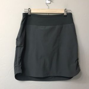 Patagonia grey skirt with built in shorts size S.